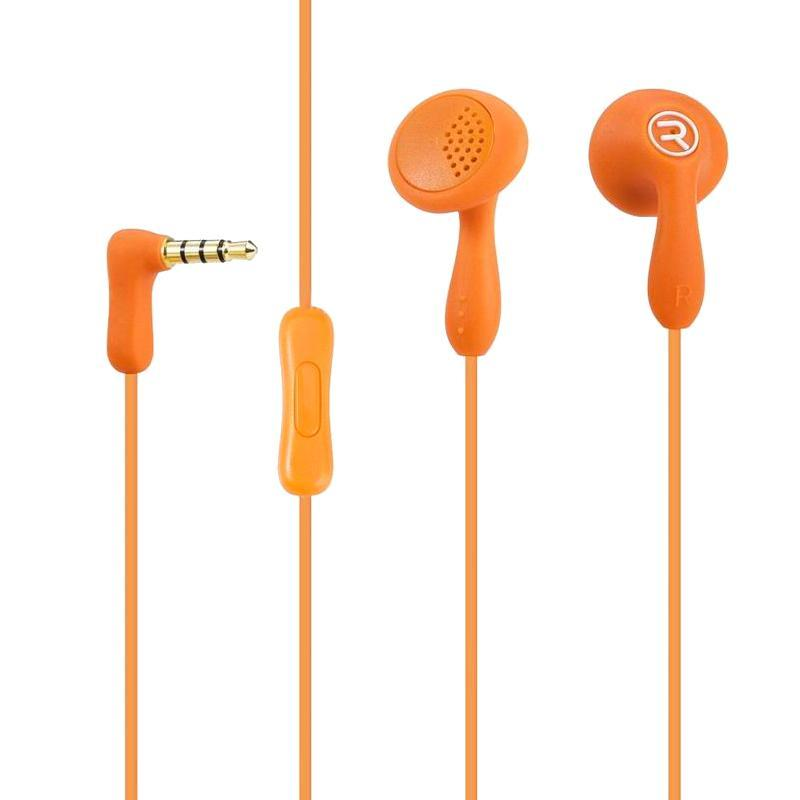 HF Remax (OR) RM-301 Orange (mic + button call answering)