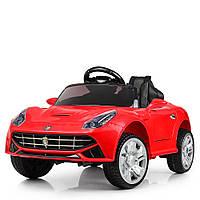 Электромобиль детский в стиле Феррари (M 3176EBLR-3)   2 мотора 25W, 2 аккумулятора, колеса EVA, MP3, USB