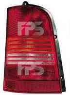 Фонарь задний для Mercedes Vito (V-Class) '96-02 правый (DEPO) желто-белая вставка