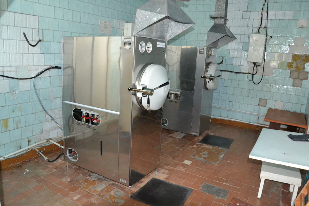 "Поставка стерилизатора ГК-100-3 ""под ключ"""