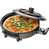 Электросковорода-гриль пицца Clatronic PP 3402, 8 л, Германия