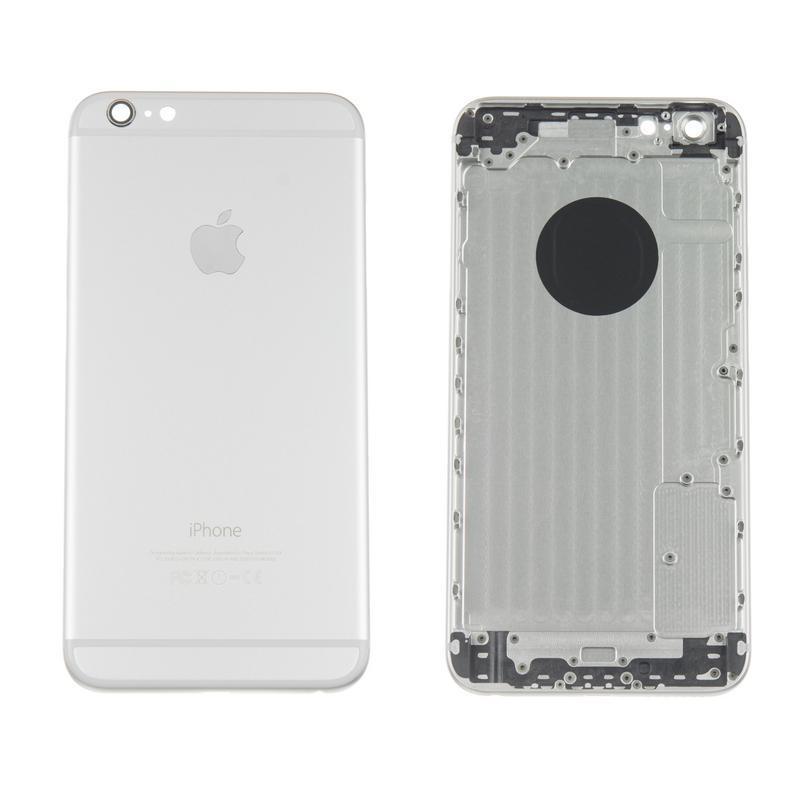 Корпус Full (крышка+рамка) iPhone 6 Plus Silver HC