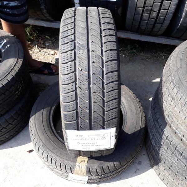 Бусовские шины б.у. / резина бу 205.65.r16с Continental Vanco Winter 2 Континенталь
