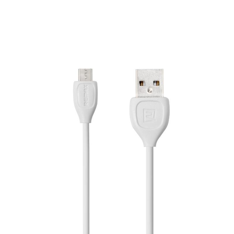 USB Cable Remax (OR) Lesu RC-050m microUSB White 1m