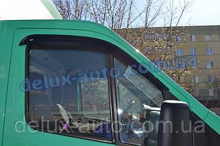 Ветровики Cobra Tuning на авто Газель Next Дефлекторы окон Кобра для Газель Некст Ветровики GAZ Некст