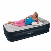 Надувная матрас - кровать Intex, 67732 (64432)  с эл. насосом (191*102*48 см)