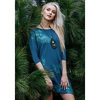 Платье женское для дома  KEY LHD-080 B19, вискоза, Польша