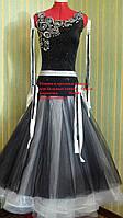 Черно-белый стандарт (юбка из фатина)