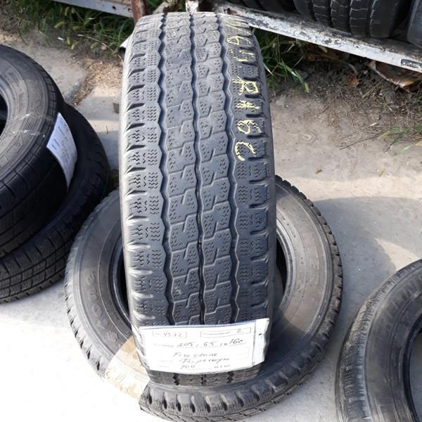 Бусовские шины б.у. / резина бу 205.65.r16с Firestone Van Hawkwinter Файрстоун