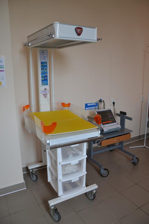 Реанимационное место для новорожденных