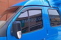 Ветровики Cobra Tuning короткие на авто Газель Соболь Дефлекторы окон Кобра короткий для GAZ 2752 Соболь
