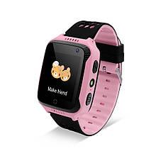 Умные детские часы Funelego Q528Y21GPS Pink