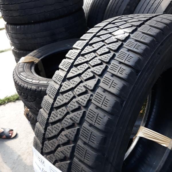 Шины б.у. 215.65.r16с Bridgestone Blizzak W810 Бриджстоун. Резина бу для микроавтобусов. Автошина усиленная. Цешка