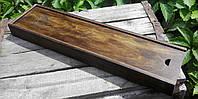 Деревянная коробка для упаковки аксессуаров  винтаж