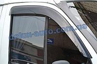 Ветровики Cobra Tuning широкие на авто Газель Соболь Дефлекторы окон Кобра широкий для GAZ 2752 Соболь