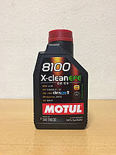 Масло MOTUL 8100 X-CLEAN EFE 5W-30 1л (107210)