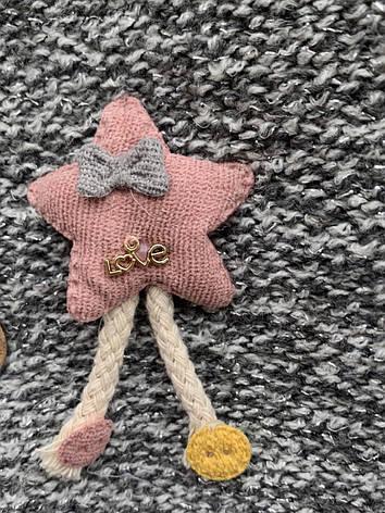 Кардиган для девочки на плюшевой подкладке, фото 2