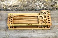 Деревянная подставка Макияж, фото 1