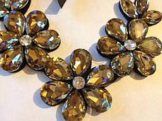 Роскошное ожерелье Цветок, фото 3