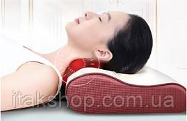 Роликовый Массажер для спины и шеи (массажная подушка большая) Massage 55 w, фото 3