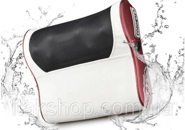 Роликовый Массажер для спины и шеи (массажная подушка большая) Massage 55 w