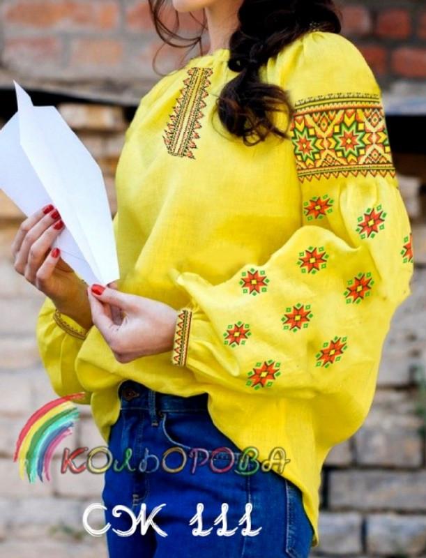Заготовка жіночої сорочки (СЖ-111)