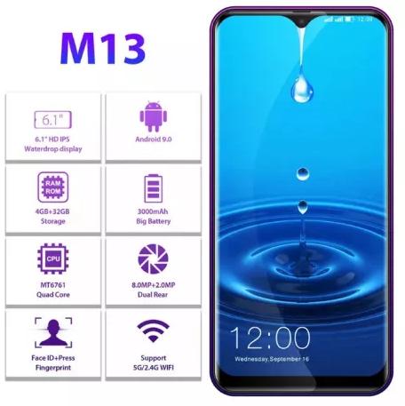 Смартфон Leagoo M13. Мобильный телефон Leagoo M13 6.1 4/32Gb Helio A22