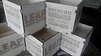 Деревянная коробка с гравировкой, фото 1