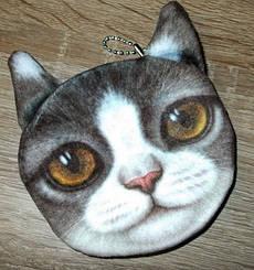 Кошелек 3D кошка