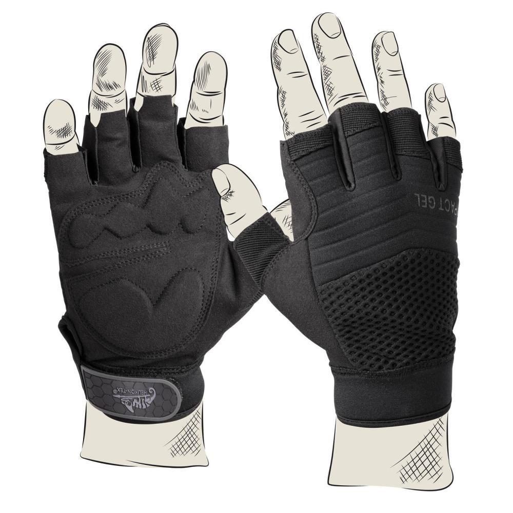 Перчатки беспалые тактические Helikon-Tex® HFG Gloves (RK-HFG-PO-01)