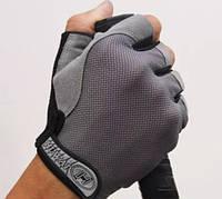 Перчатки для фитнеса, велосипедные, для спорта, туризма нескользящие, Zacro, размер L