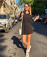 Женское стильное платье- рубашка.4 цвета