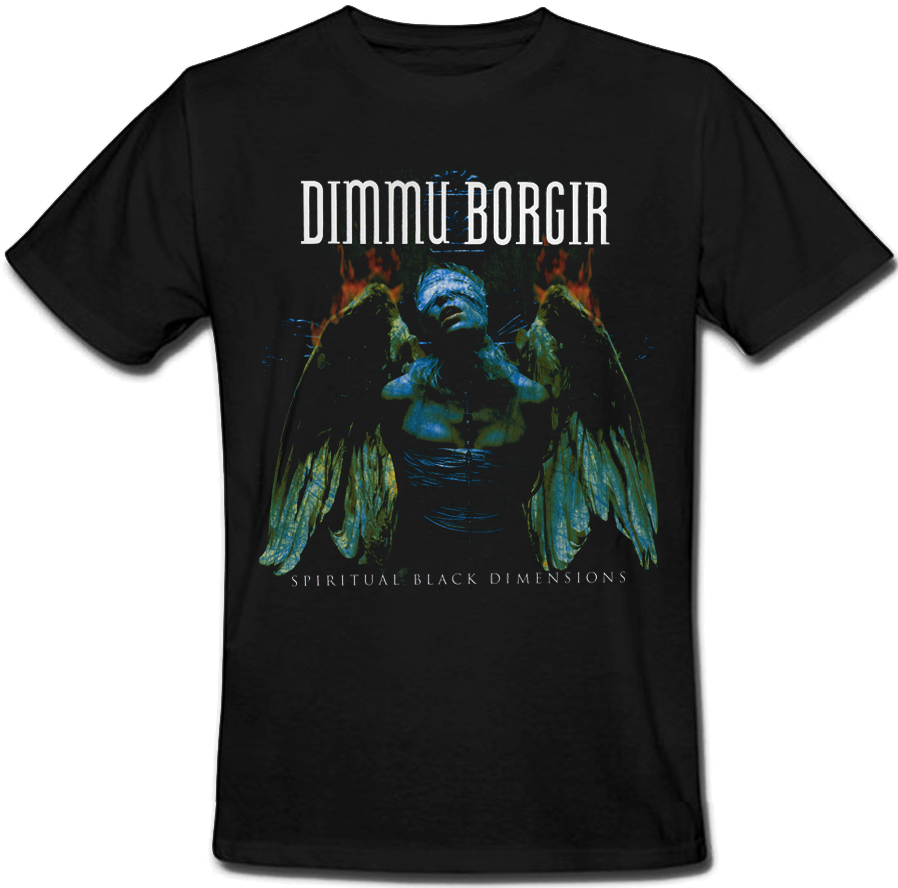 Футболка Dimmu Borgir - Spiritual Black Dimension (чорна) XXL