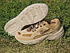 Мужские кроссовки Nike M2K Tekno Linen & Wheat & Ale Brown коричневые замшевые осенние демисезонные, фото 4