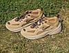 Мужские кроссовки Nike M2K Tekno Linen & Wheat & Ale Brown коричневые замшевые осенние демисезонные, фото 6