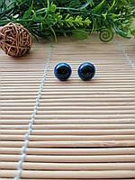 Глазки на безопасном креплении, синие, 12 мм, фото 1