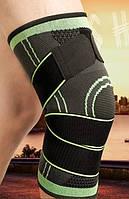 Качественный наколенник для колена, спортивный с резинками для спорта, ортез, коленный бандаж фирма Zacro