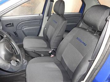 Чехлы модельные Dacia Logan MCV 7 мест с 2006 г деленная Elegant Classic №128