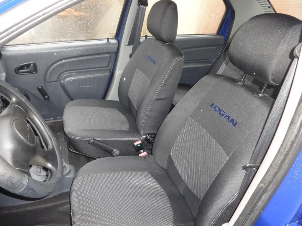 Чехлы модельные Dacia Logan MCV 7 мест с 2006 г цельная Elegant Classic №016