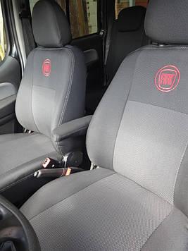 Чехлы модельные Fiat Doblo (1+1) c 2010 г Elegant Classic №349