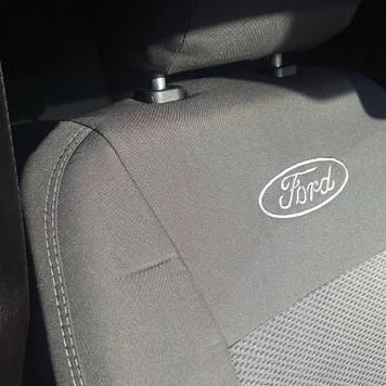 Чехлы модельные Ford Conect (1+1) без столиков c 2002-13 г Elegant Classic №448