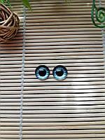 """Глазки """"живые"""", 12 мм,  серые, фото 1"""