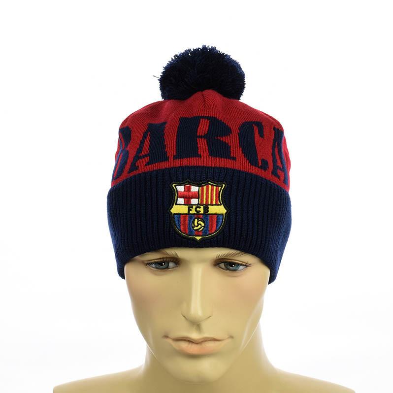 """Футбольная шапка """"Barcelona"""""""