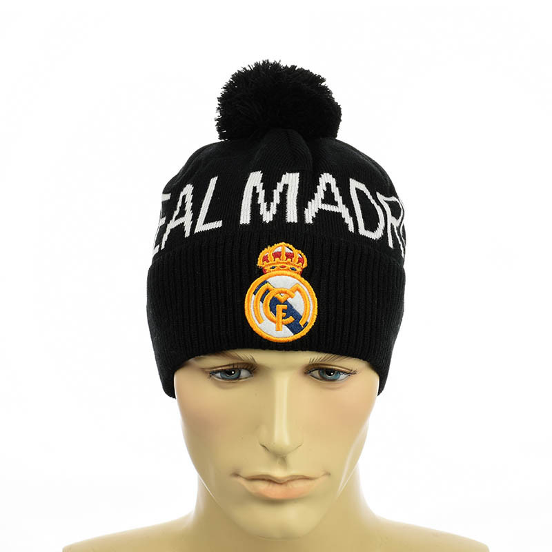 """Футбольная шапка """"Real Маdrid"""""""