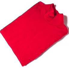 Гольф с начесом очень теплый Турция размер 48-54 код 071 красный