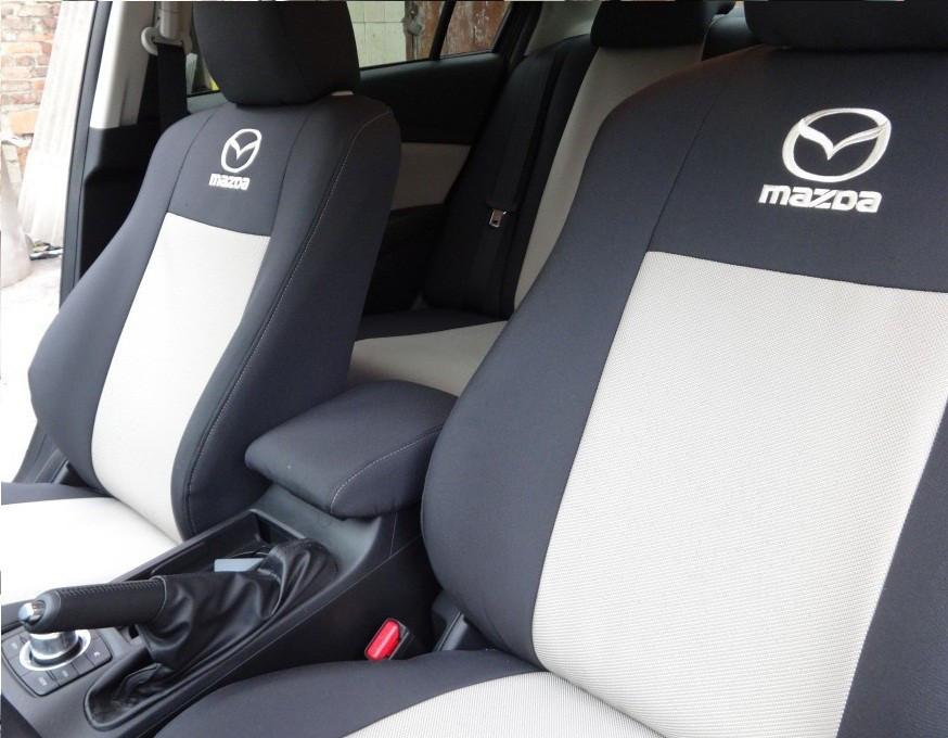 Чехлы модельные Mazda 5 (7мест) с 2005-10 г Elegant Classic №360