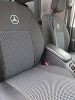 Чехлы модельные Mercedes Vito с 2014-2018 (1+2/1+2+2 подл/3 диван) 9 мест Elegant Classic №681