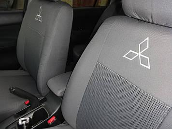 Чехлы модельные Mitsubishi Colt 3D с 2007 г Elegant Classic №554