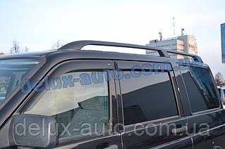 Ветровики Cobra Tuning на авто УАЗ Патриот Дефлекторы окон Кобра для UAZ Patriot