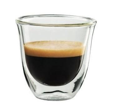 Термостакан для кофе DeLonghi Espresso 60 мл. с двойными стенками